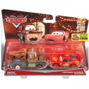 Дисни Карс - Комплект колички - Матю без гуми и Маккуин без гуми - Disney Cars, 171862