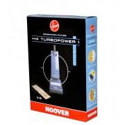 Hoover Confezione da 5 sacchi in carta H4 Turbopower