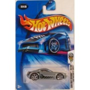 Mattel Hot Wheels 2004 First Editions 1:64 Scale Silver Ford Mustang GT Concept Die Cast Car #048
