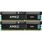 Corsair CMX4GX3M2B1600C9 XMS3 Memoria per Desktop a Elevate Prestazioni da 4 GB (2x2 GB), DDR3, 1600 MHz, CL9