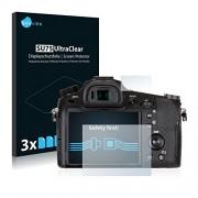 6x Savvies Pellicola Protettiva per Sony Cyber-Shot DSC-RX10 III Protezione Proteggi Schermo Trasparente