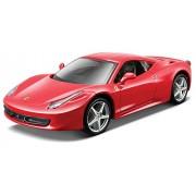 2009 Ferrari 458 Italia [Bburago 26003], Rojo, 1:24 Die Cast
