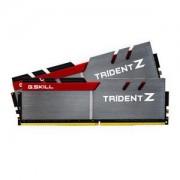 Mémoire LONG DIMM DDR4 G.Skill DIMM 16GB DDR4-3200 Kit F4-3200C16D-16GTZB, Trident Z 16 GB CL16 18-18-38 2 barettes