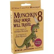 Steve Jackson Games Munchkin Half Horse Will Travel Card Game (8 Piece)