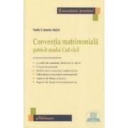 Conventia matrimoniala potrivit noului cod civil - Nadia Cerasela Anitei