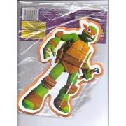Teenage Mutant Ninja Turtles Foam Wall Decoration (Standing with Weapon in Left Hand)