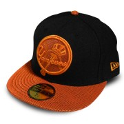 Boné New Era New York Black & Orange - 7 1/8 - P
