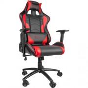 Scaun gaming Genesis NITRO 880 RED Negru/Rosu, Textil si Piele, Metal