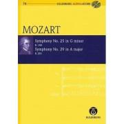 Symphony No. 25 G Minor K183 and Symphony No. 29 a Major K201 by Wolfgang Amadeus Mozart