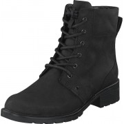 Clarks Orinoco Spice Black Leather, Skor, Kängor & Boots, Kängor, Svart, Dam, 36