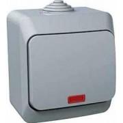 CEDAR PLUS Váltókapcsoló jelzőfénnyel 16 A IP44 Szürke WDE000661 - Schneider Electric