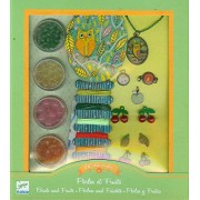 Djeco Beads and Fruits Jewelry Making Kit