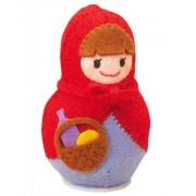 San Tokotoko felt doll Little Red Riding Hood / Production Kit (japan import)
