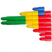 Magideal Educational Puzzle Kids Bullet Shape Building Diy Game Blocks 1Bag Toy Gift