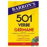 501 verbe germane + CD - Henry Strutz