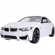 Licensed Rastar R/C Remote Control Car Vehicle 1:14 BMW M4 Coupe 70900 White Car Model Kid Child Toy