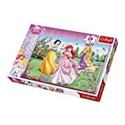 "Trefl 14135 ""Maxi Disney Princesses By The Fountain"" Puzzle (24-Piece)"