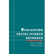 Evaluating Social Science Research by Paul C. Stern