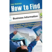 How to Find Business Information by Lucy Heckman