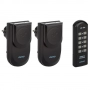 2 Prises télécommandées pour extérieur avec télécommande 5 canaux - ORNO