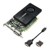 PNY VCQK2200-PB Nvidia Quadro K2200 Scheda Grafica Professionale, 4 GB, GDDR5, PCI-Express 4K 2 x DP + DVI