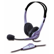"Casti GENIUS ""HS-04S"" + microfon noise cancelling ""31710025100"" (include timbru verde 0.01 lei)"