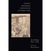 Early Modern Japanese Literature by Haruo Shirane