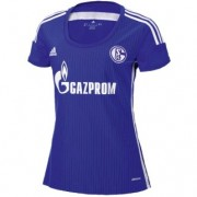 adidas Damen-Trikot FC SCHALKE 04 home - cobalt/night blue/white|XS|Kurzarm