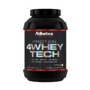 4 whey Tech Evolution Series Low Carb - 907g Cookies&Cream - Atlhetica