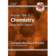 New A-Level Chemistry: Edexcel Year 2 Complete Revision & Practice with Online Edition by CGP Books