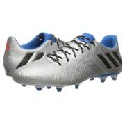 adidas Messi 163 FG Silver MetallicBlackShock Blue