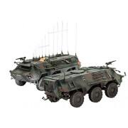 Revell 03139 - TPz 1 Fuchs EloKa Hummel/ABC Spürpanzer Kit di Modello in Plastica, Scala 1:72