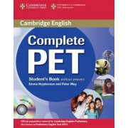 Complete PET Student's Book without Answers with CD-ROM by Emma Heyderman