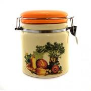 Bol pentru condimente din ceramica cu legume pictate