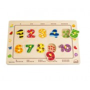 Hape-Numbers Matching Puzzle