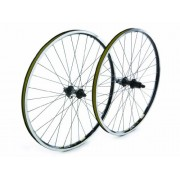 NEW Tru-build Wheels Front wheel Shimano Deore silver, built onto Mach 1 MX s...