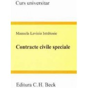 Contracte civile speciale - Manuela Lavinia Istratoaie