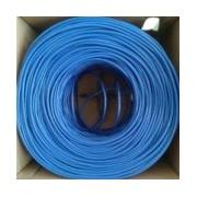 BOBINA UTP CAT.5E CONDUMEX (CM) BRAVO TWIST/24 AWG/ COBRE/ 305 MTS/ AISLA POLIETILENO/CUBIERTA PVC/ AZUL