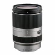 Tamron 18-200mm F/3.5-6.3 Di III VC argintiu Canon EF-M
