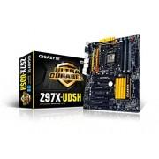 Gigabyte GA-Z97X-UD5H S1150 Scheda Madre (ATX VGA, SND, 2GLN, U3, M2 SATA, 6GB, DDR3 Memoria)