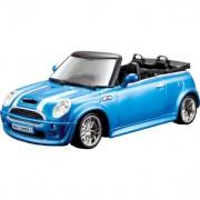 Mini Cooper S Cabriolet 1:32 blauw/wit