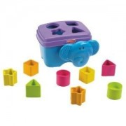 Toy / Game Awesome Fisher-Price Growing Baby Elephant Shape Sorter W/ Colorful Blocks Offer Visual S