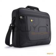 Geanta laptop 17.3' Case Logic, slim, buzunar interior 10.1', buzunar frontal, poliester, black 'ANC