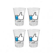 Copos de Tequila Curti Facebook Like