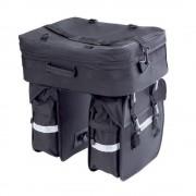 Rex Dreifach-Packtasche inkl. Regenüberzug
