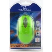 Mouse Esperanza TM102G Titanum Optical 1000DPI Verde