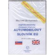 CD-ROM Anglicko-slovenský a slovensko-anglický automobilový slovník EÚ(Michael de Kernech)