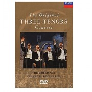 Luciano Pavarotti, Plácido Domingo, José Carreras - The Original Three Tenors Concert (DVD)