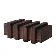 caixa de madeira mágica com gaveta secreta mais seguro
