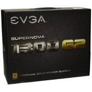 EVGA x2 da 120 G2 - 1300 PSU Supernova - Alimentatore per PC (G21 X 12 V, KM, Eco Mode, 1300 Watt)